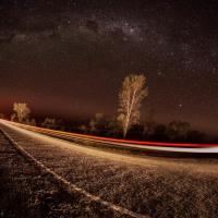 Como faz #1 – Via láctea na estrada