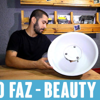 Tutorial: como fazer um Beauty Dish em casa